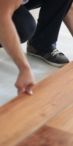 Laminate installation | Independent Floor Covering