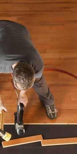 Hardwood installation | Independent Floor Covering