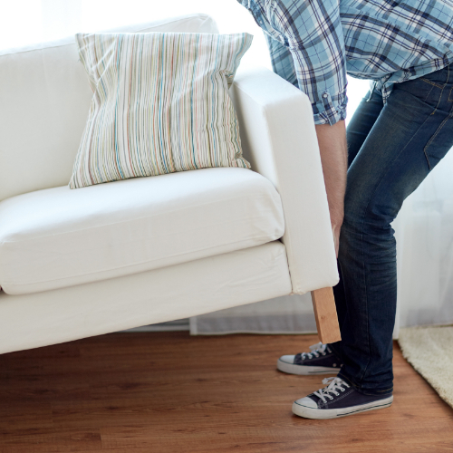 Moving furniture | Independent Floor Covering