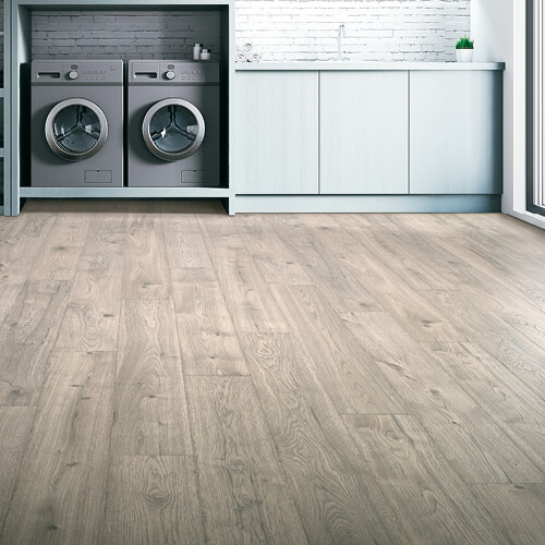 laminate flooring in laundry room | Independent Floor Covering