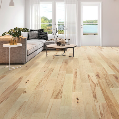 wood look vinyl flooring in living room | Independent Floor Covering