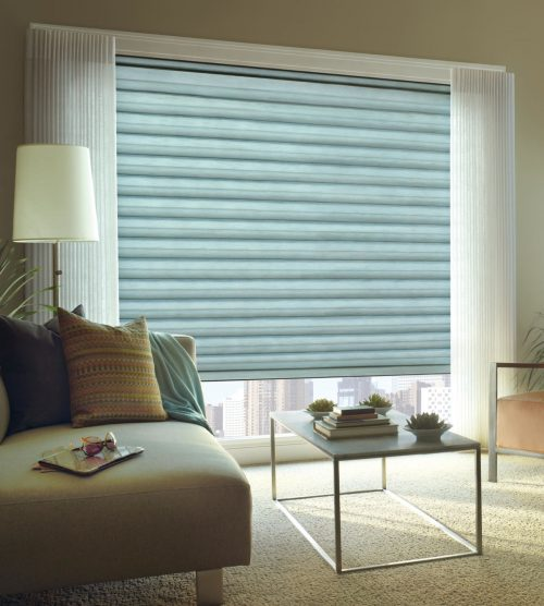 window treatments in living room | Independent Floor Covering