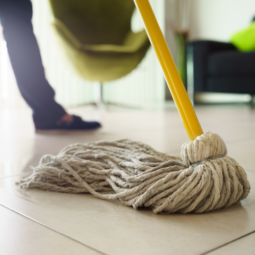 mopping tile flooring | Independent Floor Covering