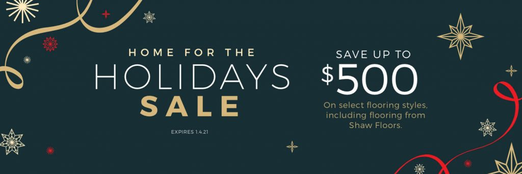 Home for the Holidays Sale | Independent Floor Covering