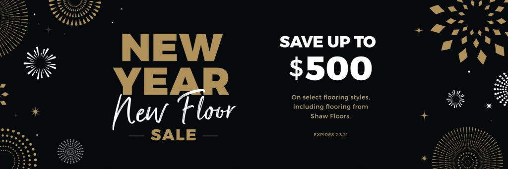 New Year New Floors Sale | Independent Floor Covering